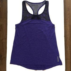 Reebok Women's Purple Razorback Activewear Tank